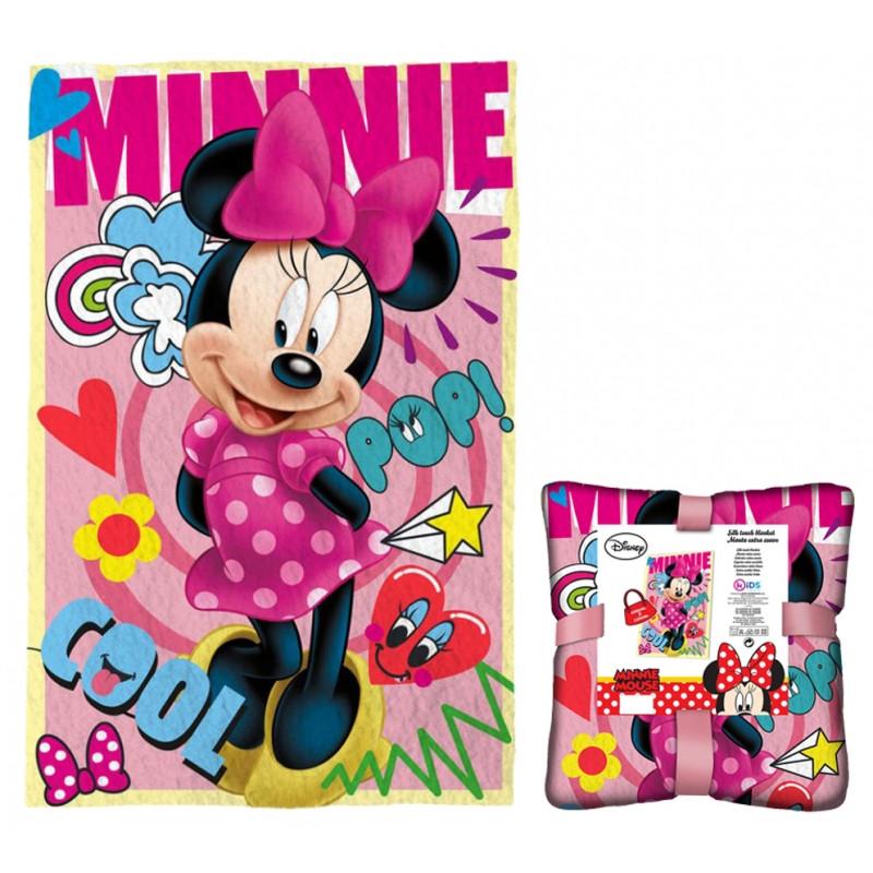 Dětská deka Minnie Mouse / 100 x 150 cm