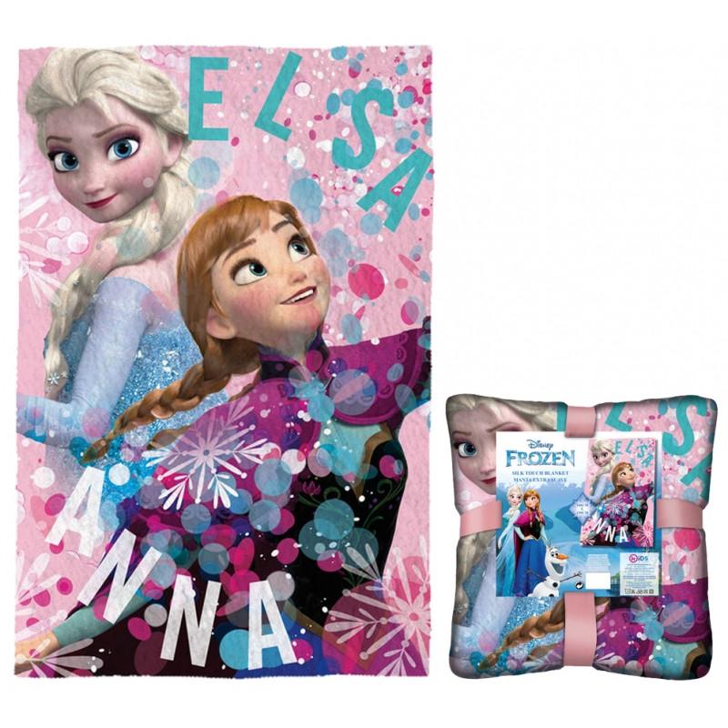 Dívčí deka Frozen / Ledové království / 100 x 150 cm