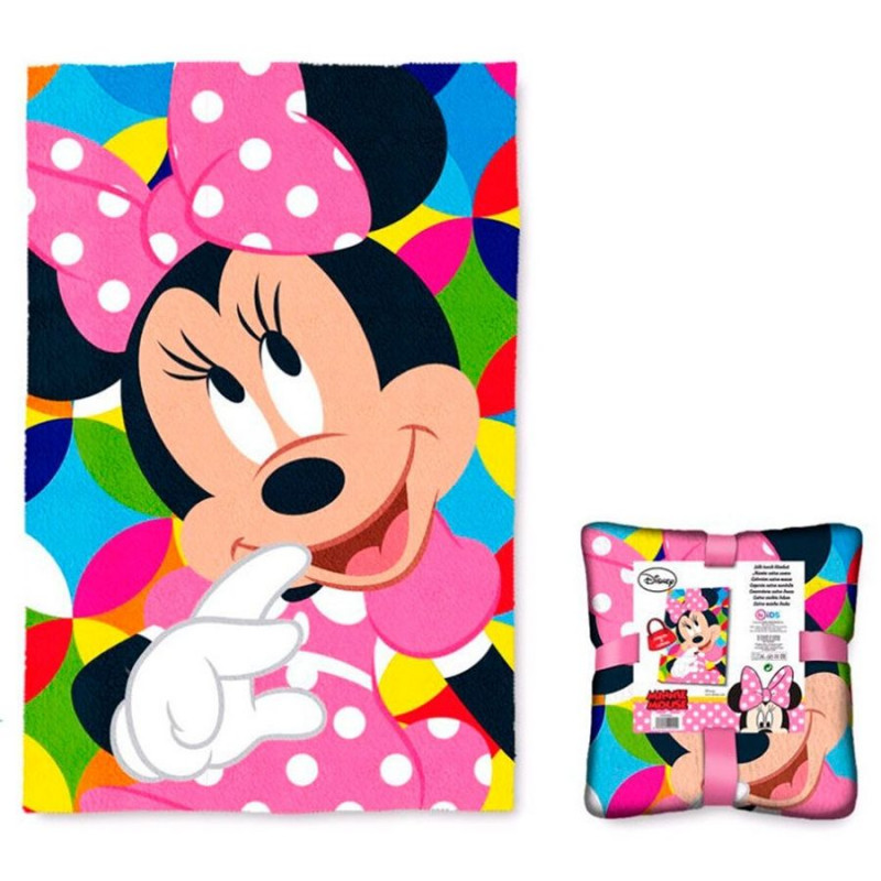 Fleecová deka Minnie Mouse / 100 x 150 cm