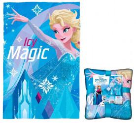 Fleecová deka Icy Magic / Frozen / 100 x 150 cm / veci z filmu