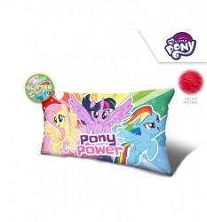 Velurový polštář My Little Pony / 70 x 35 x 12 cm