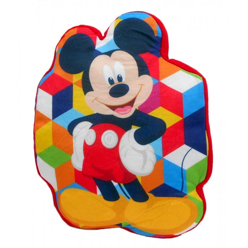 Velurový polštář Mickey Mouse / 35 cm