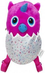 Dívčí tvarovaný plyšový batoh Hatchimal / Owlicorn 18 x 32 x 17 cm / vecizfilmu