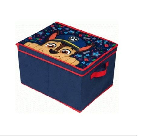 Dětský úložný box / krabice Paw Patrol / Tlapková Patrola Chase 40 x 30 x 25 cm