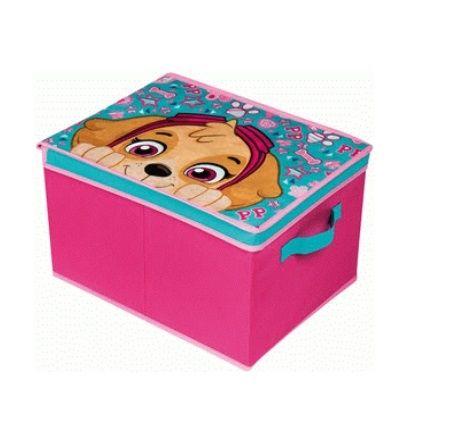 Dětský úložný box / krabice Paw Patrol / Tlapková Patrola Skye 40 x 30 x 25 cm