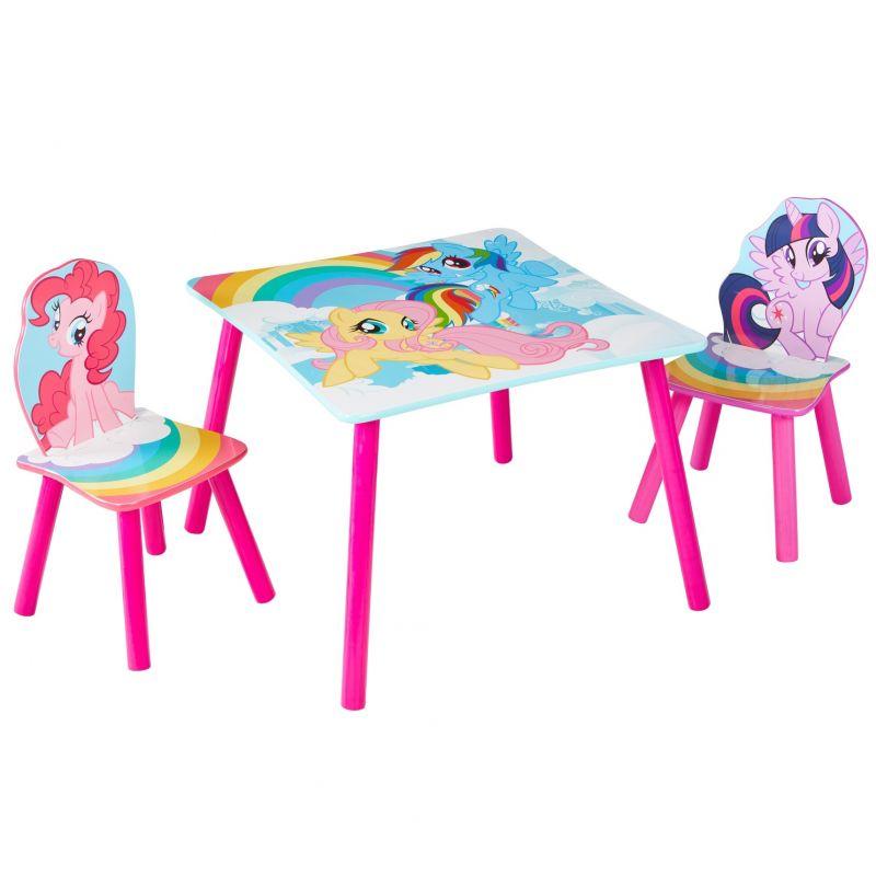 Dětský stůl + 2 Židle My Little Pony