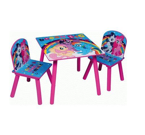Dětský stůl + 2 Židle My Little Pony Dream Big