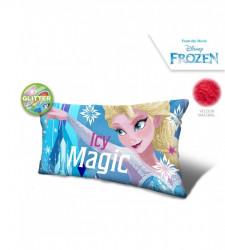 Třpytivý polštář Frozen / Elsa