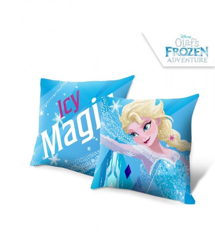 Polštář  Elsa / Frozen / 40 x 40 cm