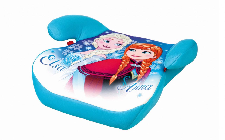 Dětský podsedák do auta Frozen / 35 x 40 x 16 cm