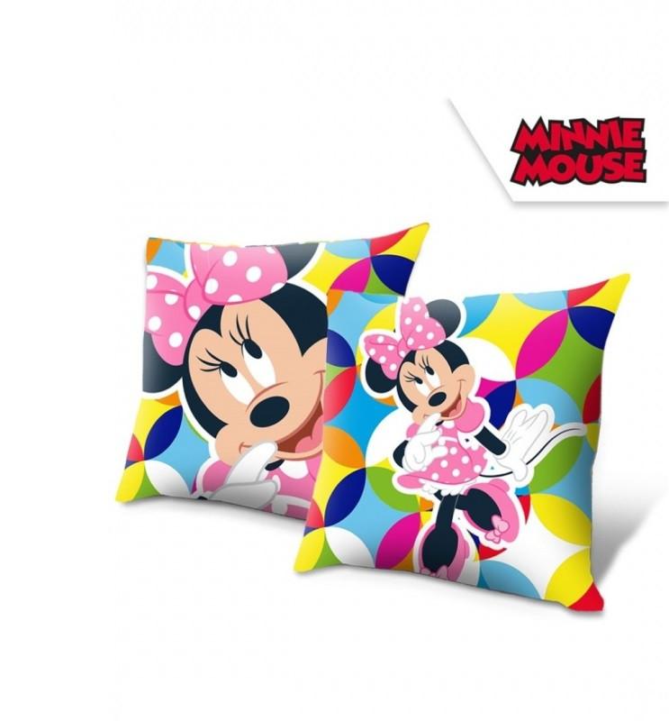 Polštář Minnie Mouse / 40 x 40 cm