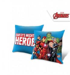 Polštář pro kluky s hrdiny Avengers / 40 x 40 cm