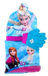 Dívčí podzimní / zimní sada oblečení Frozen / Ledové Království čepice / nákrčník / rukavice / vecizfilmu