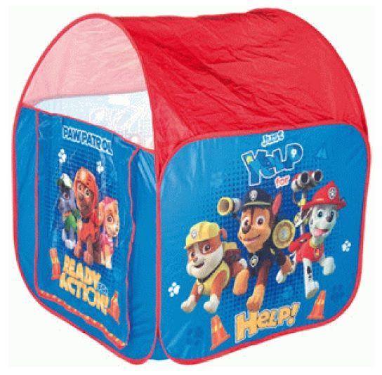 Dětský stan / domeček na hraní Paw Patrol / Tlapková Patrola  80 x 80 x 95 cm