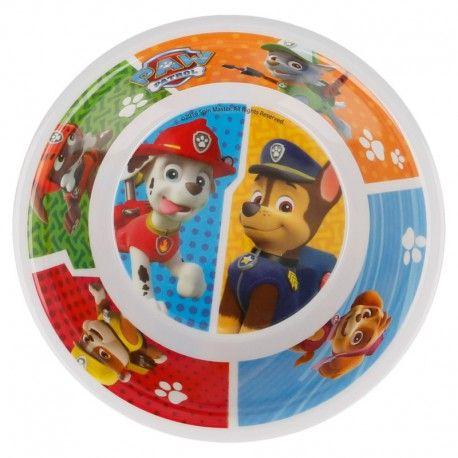 Dětská plastová miska Tlapková Patrola / Paw Patrol Team
