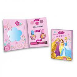 Kosmetický set Princezny set zrdcátko + líčení (laky, balzámy, lesk)