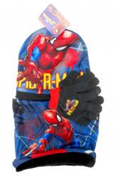Chlapecká podzimní / zimní sada oblečení čepice / nákrčník / rukavice s pavoučím mužem Spidermanem / vecizfilmu