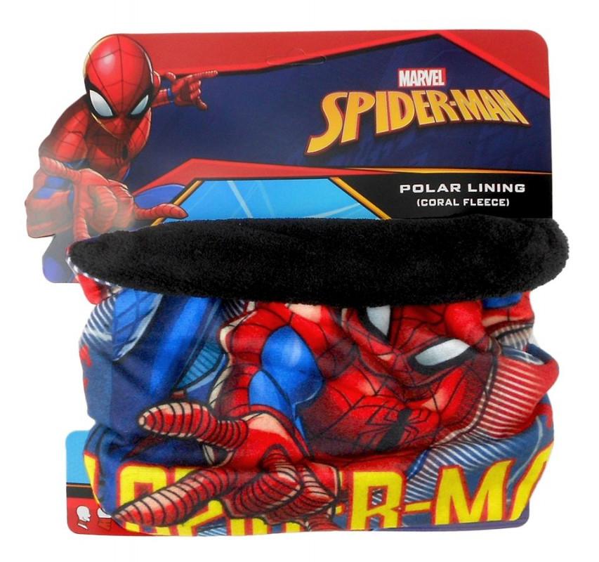 Dětský hebký fleecový nákrčník s pavoučím mužem Spidermanem   vecizfilmu 4c2da8296e