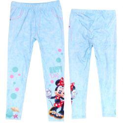 Dívčí legíny modré s Myškou Minnie / Minnie Mouse velkost 104 - 134 cm / vecizfilmu