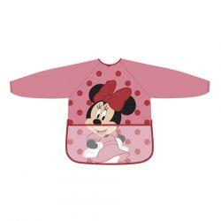Dívčí ochranná zástěrka s rukávy Myška Minnie / Minnie Mouse 3- 5 let