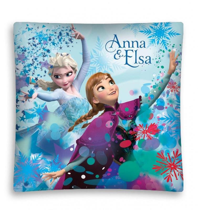 Povlak na polštář Anna a Elsa / Frozen / 40 x 40 cm / veci z filmu