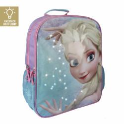 Batoh dívčí s LED světly ELSA Frozen / Ledové Království / 41 cm