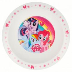 Plastový talíř hluboký My Little Pony / průměr 20 cm / veci z filmu