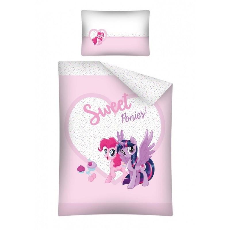 POVLEČENÍ DO DĚTSKÉ POSTÝLKY My Little Pony / 100x135 cm / veci z filmu
