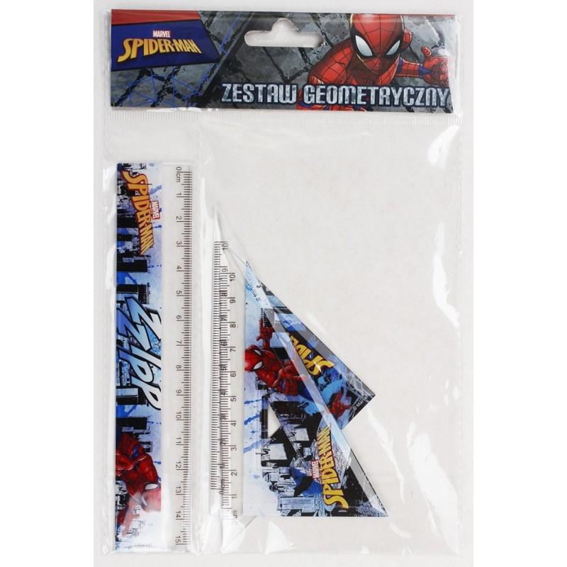 Geometrický set Spiderman / 3 kusy v balení