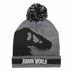 Podzimní / Zimní čepice s bambulí Jurský Park / Jurassic Park / 52 - 54 cm / veci z filmu