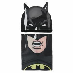Podzimní   zimní sada Batman čepice   nákrčník   50 - 52 cm 2fe687c33c