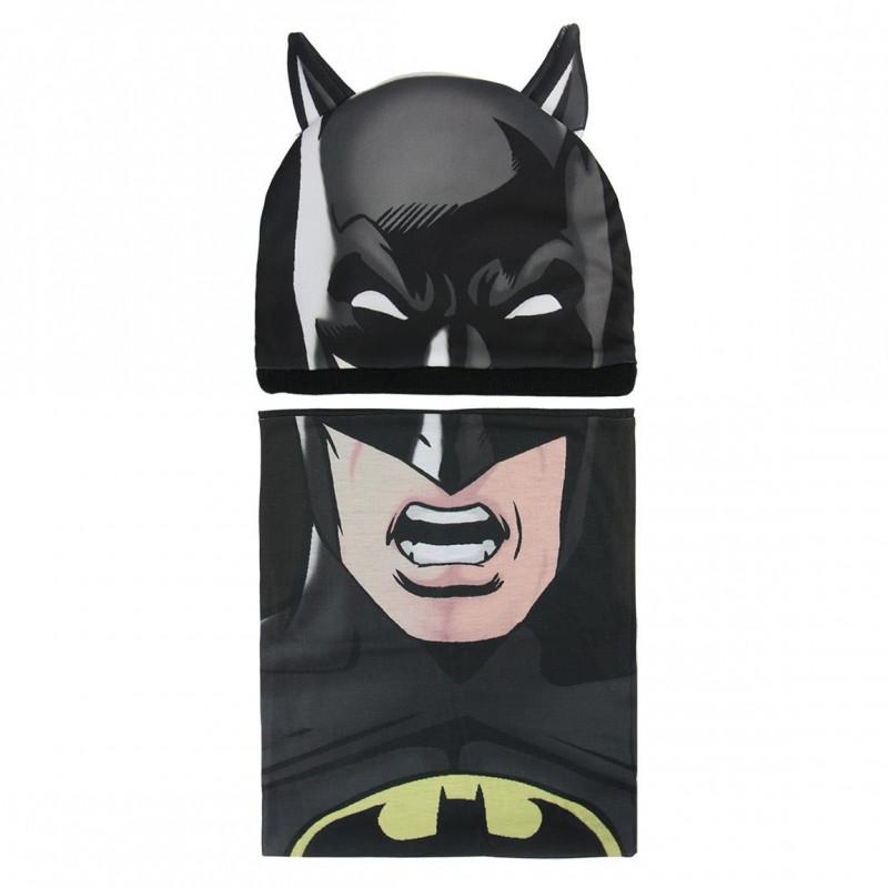 Podzimní   zimní sada Batman čepice   nákrčník   50 - 52 cm   veci z 6e39922f81