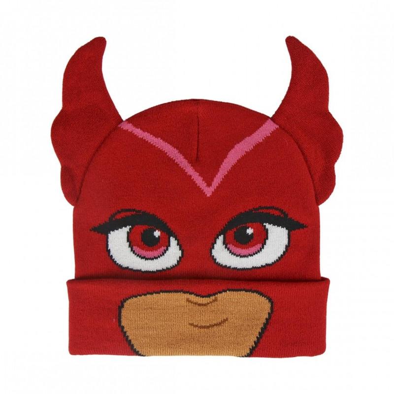Podzimní / Zimní čepice AMAYA PJ Masks 3D / 52-54 cm