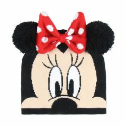 Podzimní / Zimní dívčí čepice Minnie Mouse 3D / 52-54 CM / veci z filmu