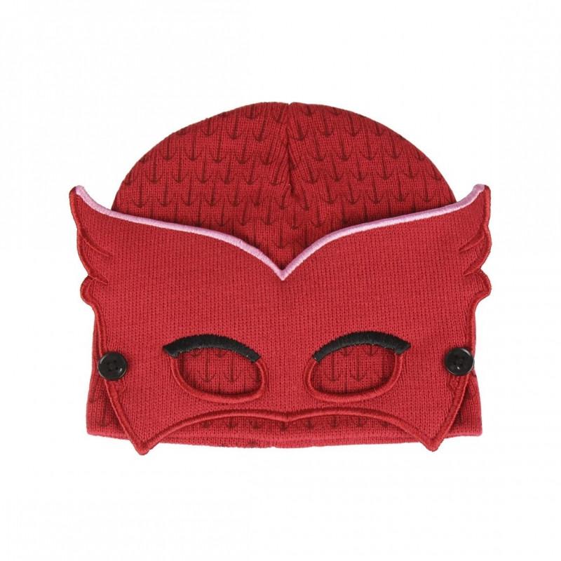 Podzimní / Zimní čepice s maskou Amaya PJ Masks / 52-54 cm