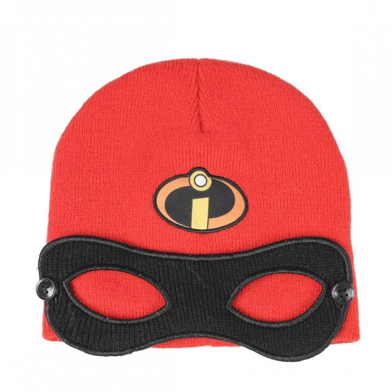 Podzimní / Zimní čepice s maskou Úžasňákovi / 52-54 cm
