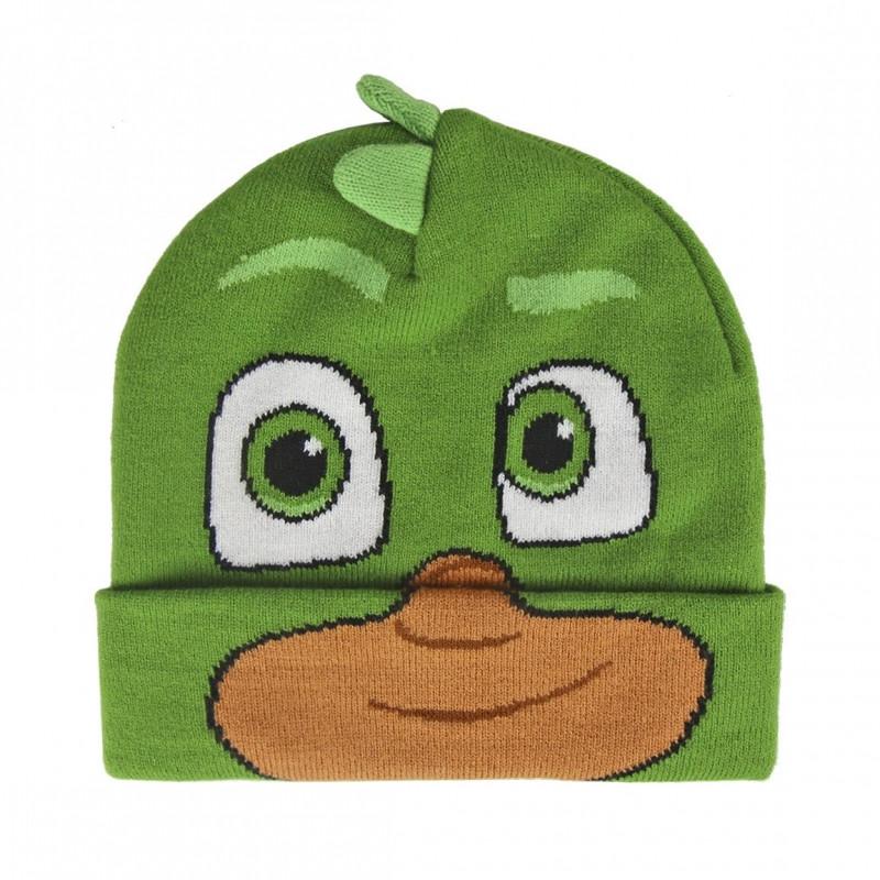 Podzimní / Zimní čepice PJ Masks Greg 3D / 52-54 cm