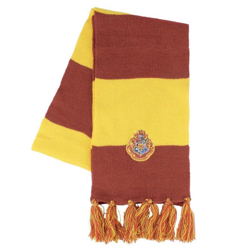 Hřejivá podzimní / zimní šála pro fanoušky Harryho Pottera 150 cm / vecizfilmu