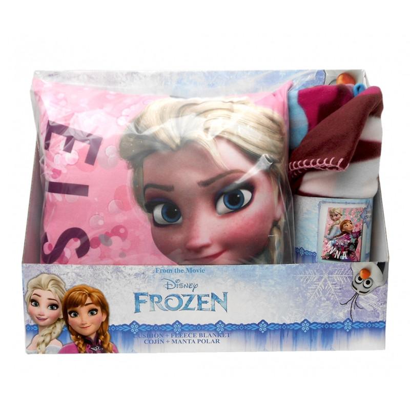 4f486dc3ac3 ... Hřejivá hebká sada Frozen   Ledové Království   Fleecová deka a polštář    vecizfilmu