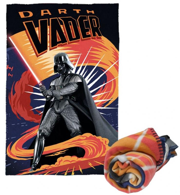 Hebká fleecová deka pro kluky Hvězdné Války / Star Wars 100 x 150 cm