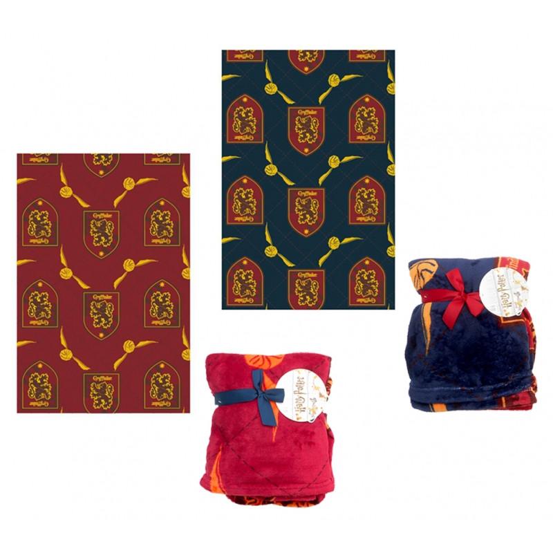 Hebká fleecová deka pro fanoušky Harryho Pottera 100 x 150 cm