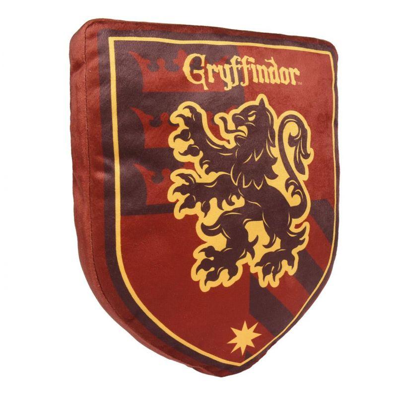 Plyšový polštář se znakem Harry Potter / Gryffindor 35 x 28 cm