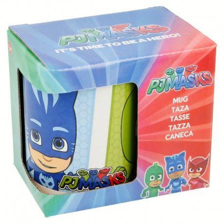 Dětský keramický hrnek Pyžamasky / PJ Masks 325 ml Greg / Amaya / Connor