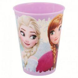 Dívčí plastový kelímek Ledové Království / Frozen Anna a Elsa 260 ml