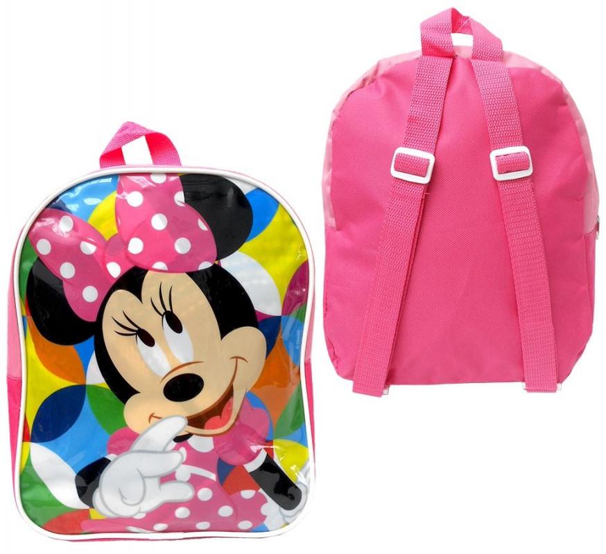 Dívčí batoh Myška Minnie / Minnie Mouse 29 cm růžový