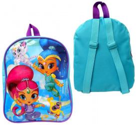 Dívčí batoh Třpyt a Lesk / Shimmer i Shine 29 cm modrý