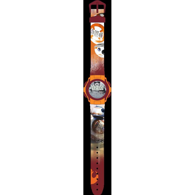 Chlapecké digitální hodinky Star Wars / Hvězdné války BB - 8