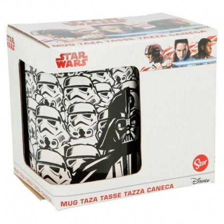 Keramický hrnek Stormtrooper a Darth Vader / Star Wars / Hvězdné Války 315 ml