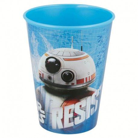 Chlapecký plastový kelímek Star Wars / Hvězdné Války BB - 8 / 260 ml
