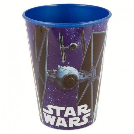 Chlapecký plastový kelímek Star Wars / Hvězdné Války modrý 260 ml